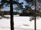 Enjoy winter fun on the frozen lake
